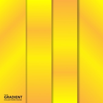 Gradient color collection pack-sjabloon