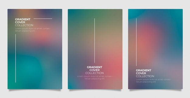 Gradient cover collectie