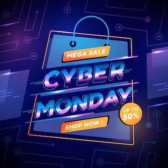 Gradient cyber monday met korting