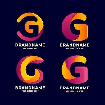 Gradient g-brieflogo-collectie