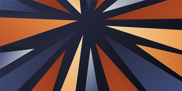 Gradiënt geometrisch behang