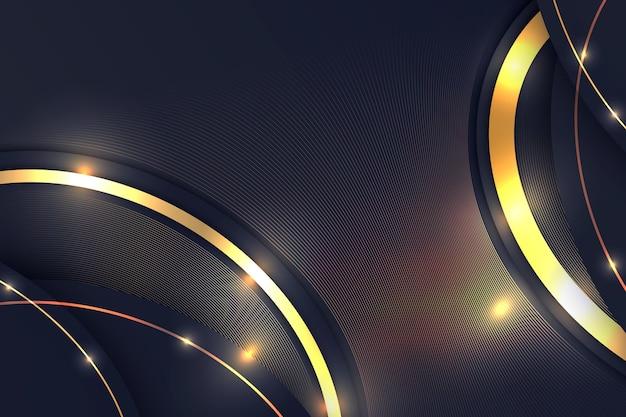 Gradiënt gouden achtergrond