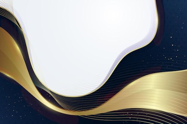 Gradiënt gouden luxe achtergrond