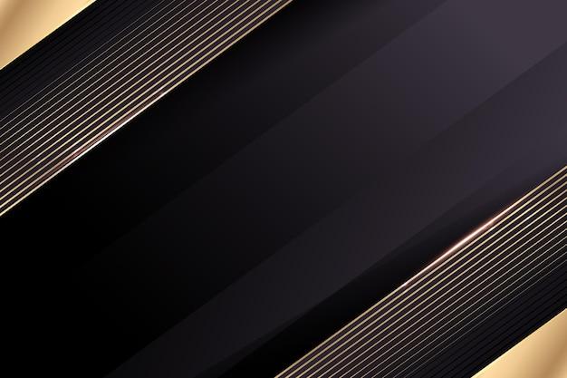 Gradiënt gouden luxe stijl achtergrond