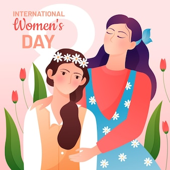 Gradient internationale vrouwendag