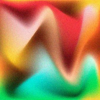 Gradiënt korrelige kleurrijke textuur Gratis Vector