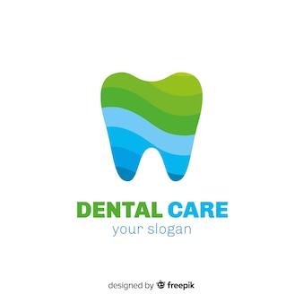 Gradient logo tandheelkundige kliniek