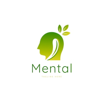 Gradient logo voor geestelijke gezondheid
