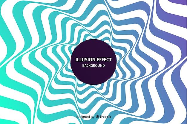 Gradient optische illusie effect achtergrond