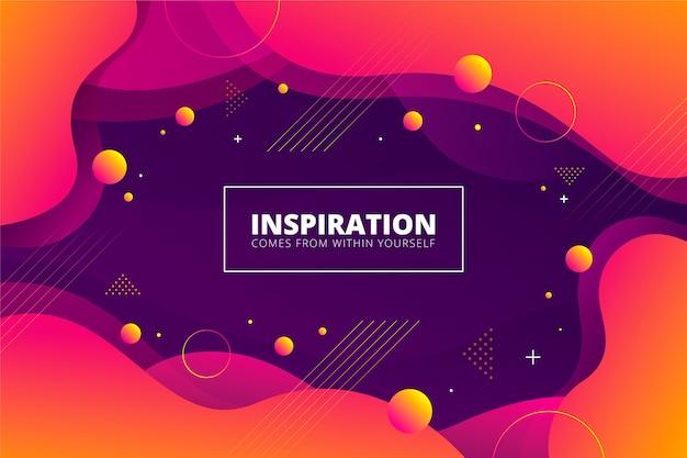 Gradiënt oranje en violette abstracte achtergrond