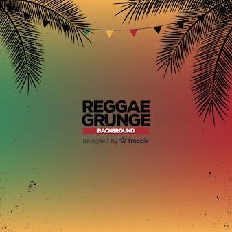 Gradient reggae achtergrond