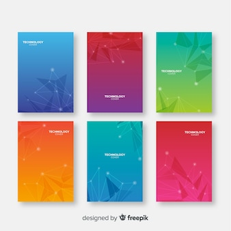 Gradiënt technologie brochure pakket
