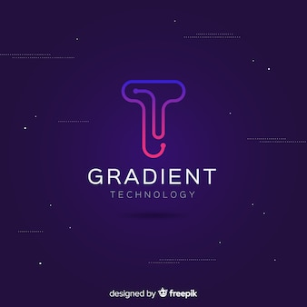 Gradient technologie-logo