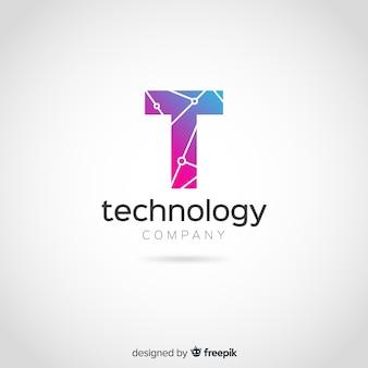 Gradient technologie-logo