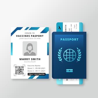 Gradiënt vaccinatiepaspoort