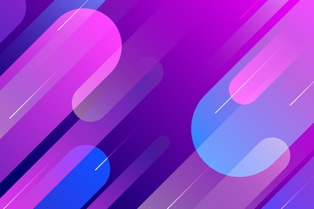 Gradiënt violet en blauwe abstracte achtergrond