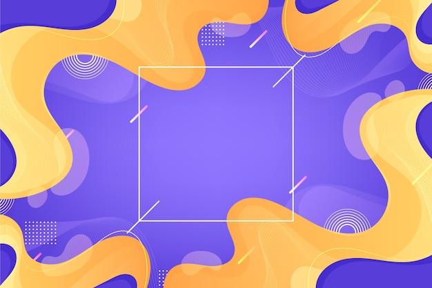 Gradiënt vloeibare abstracte achtergrond
