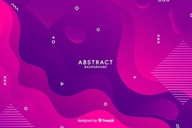 Gradient vormen abstracte achtergrond
