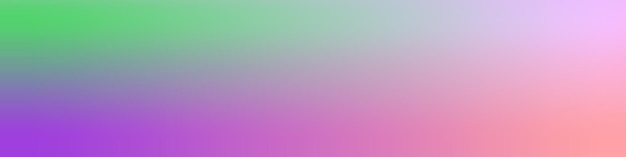 Gradiënt wazig groen, roze, violet behang achtergrond poster