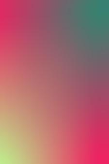 Gradiënt wazig roze rood bordeaux groenblauw groen neon groen gradiënt behang achtergrond