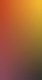 Gradiënt wazig verbrand oranje amber zwart kastanjebruin gradiënt behang achtergrond vectorillustratie