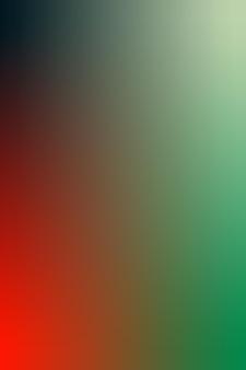 Gradiënt, wazig zwart, rood oranje, smaragdgroen, zeeschuim groen gradiënt behang achtergrond