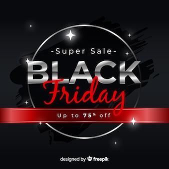 Gradiënt zwarte vrijdag verkoop