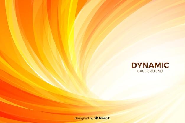 Gradiëntachtergrond met dynamische vormen