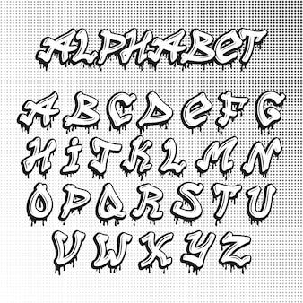 Graffity-lettertype