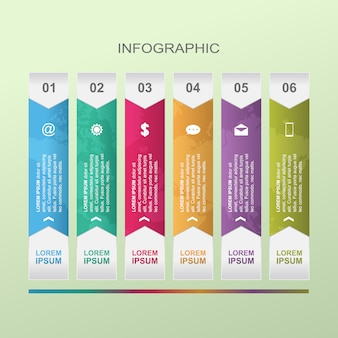 Grafiek grafiek stappen diagram statistische zakelijke infographic illustratie
