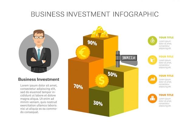 Grafiek infographic-sjabloon