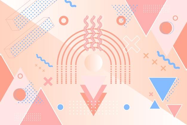 Grafisch ontwerp geometrische achtergrond