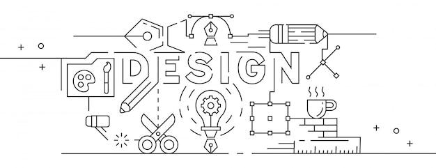 Grafisch ontwerp illustratie