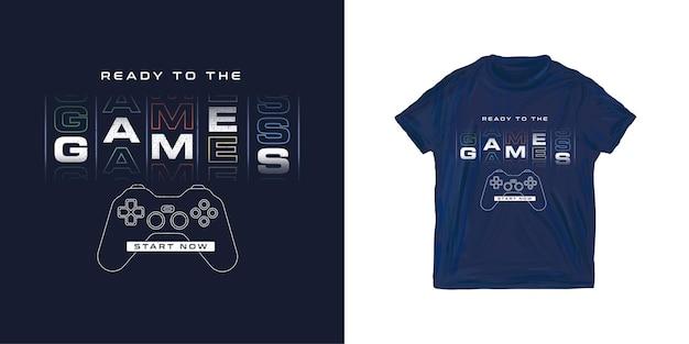 Grafische t-shirtgamer voor jongen