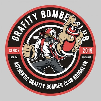 Grafity bomber club