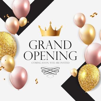 Grand opening luxe uitnodiging