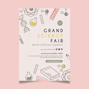 Grand science fair sjabloon