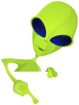 Grappig buitenaards wezen
