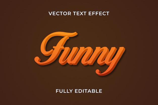 Grappig teksteffect