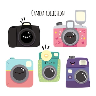 Grappige camera collectie