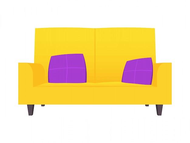 Grappige cartoon sofa