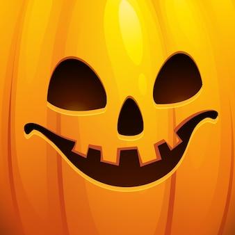 Grappige halloween-wenskaart. vectorillustratie eps 10