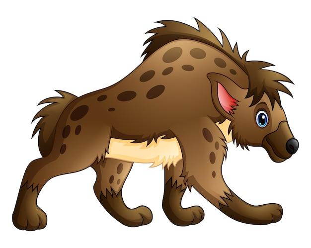 Grappige hyena cartoon