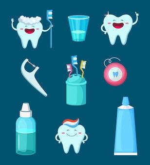 Grappige tanden