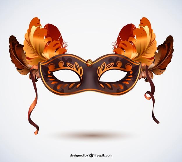 Gratis carnaval masker