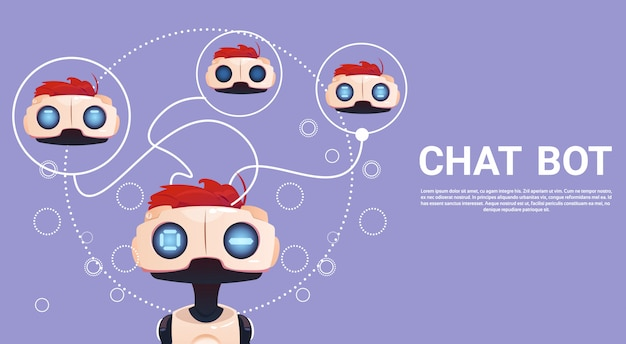 Gratis chat bot, robot virtual assistance element of website of mobile applications, artificial intell