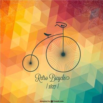 Gratis fiets retro design
