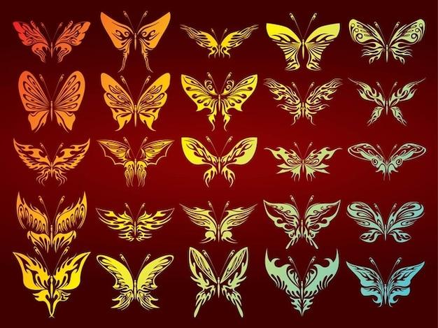 Gratis vlinders collectie