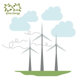 Green energy-ontwerp