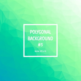 Green polygonal achtergrond